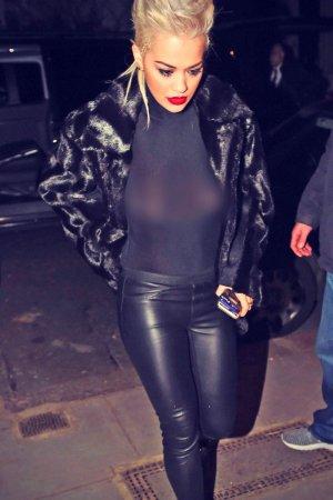 Rita Ora Leaving the O2 Shepherds Bush Empire