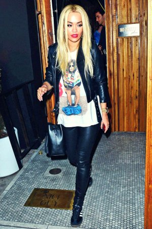 Rita Ora night out at Nice Guy in West Hollywood