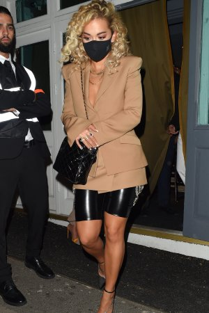 Rita Ora night out in London