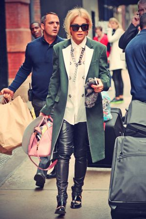 Rita Ora out and and about Soho New York