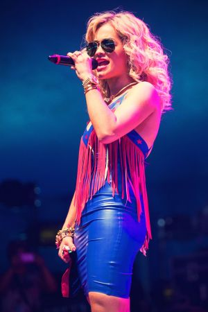 Rita Ora performs at V Festival