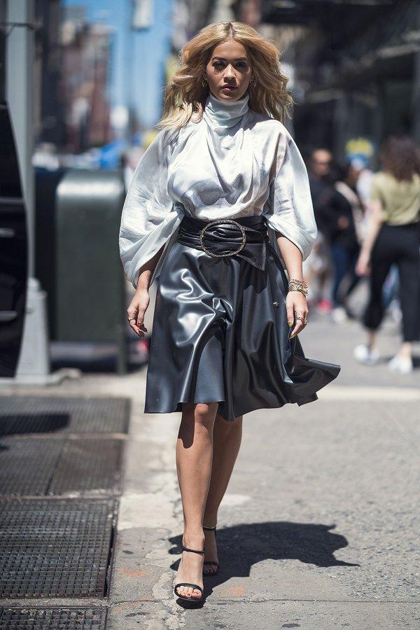 Rita Ora seen in New York City