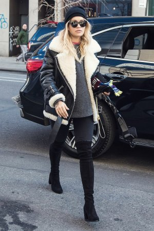 Rita Ora seen out in SoHo