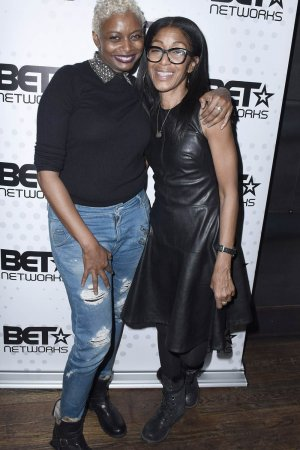 Robi Reed attends the BET Hosted Reception