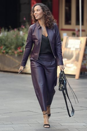 Rochelle Humes at Global Radio London