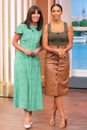Rochelle Humes at This Morning TV show