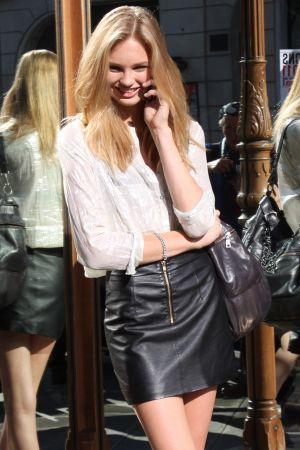Romee Strijd at FashionWeek