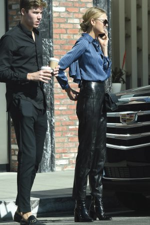 Romee Strijd out in LA