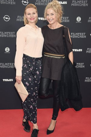 Rosalie Thomass & Franziska Schlattner attend the premiere