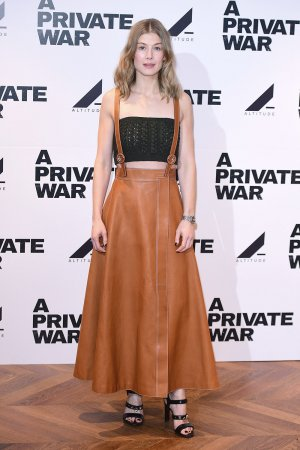 Rosamund Pike attends A Private War Screening