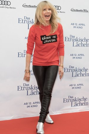 Rosanna Arquette photocall of the movie 'Das Etruskische Laecheln'