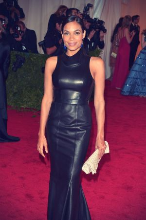 Rosario Dawson at Metropolitan Museum of Art Costume Institute gala