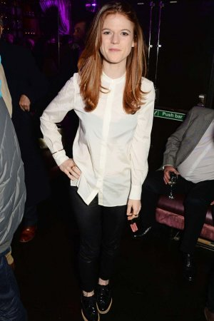 Rose Leslie at the Doctor Faustus Gala Night