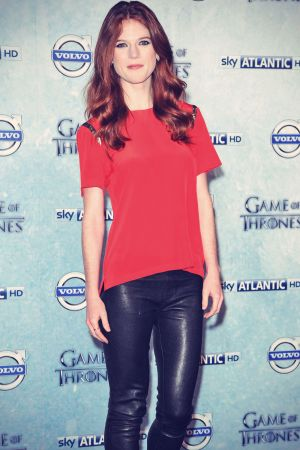 Rose Leslie attends Game Of Thrones Premiere