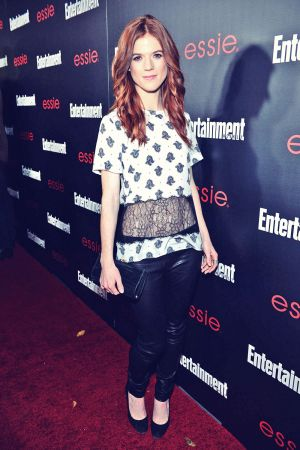Rose Leslie Entertainment Weekly celebration honoring SAG Awards nominees