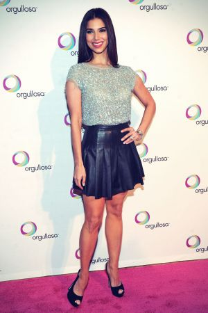Roselyn Sanchez attends the Nueva Latina campaign launch