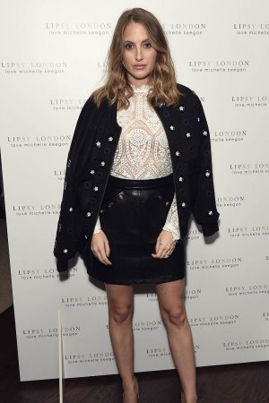 Rosie Fortescue attends the launch of Michelle Keegan's new collection