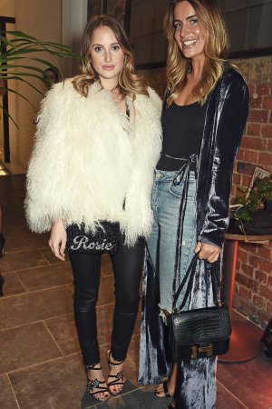 Rosie Fortescue attends the Tatler Little Black Book party