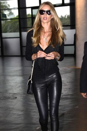 Rosie Huntington-Whiteley after the Animale Fashion Show