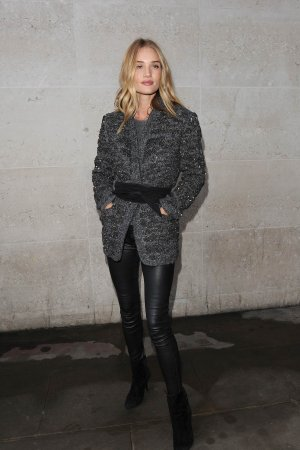 Rosie Huntington-Whiteley at BBC Radio 1 Studios