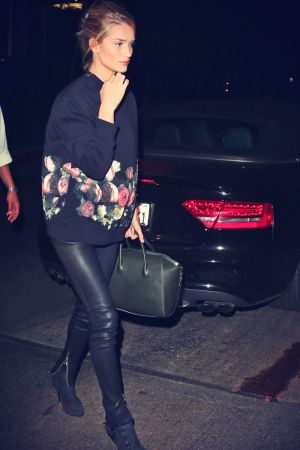 Rosie Huntington Whiteley at Chateau Marmont