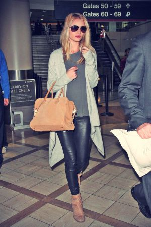 Rosie Huntington Whiteley at Los Angeles Airport LAX