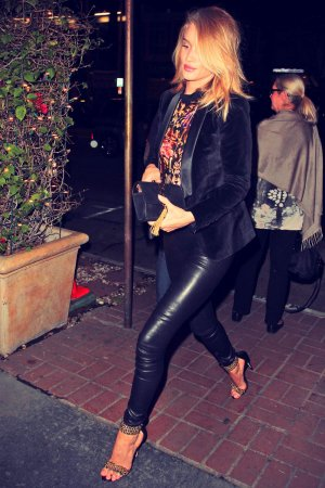 Rosie Huntington-Whiteley at Madeo in West Hollywood
