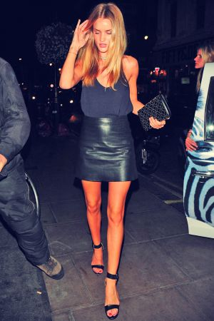 Rosie Huntington-Whiteley at The Groucho Club London