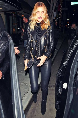 Rosie Huntington-Whiteley at the Palm Restaurant