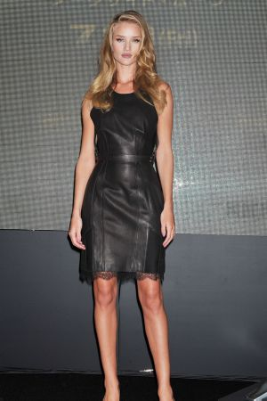 "Rosie Huntington-Whiteley at ""Transformers Dark of the Moon"" Press Conference in Osaka"