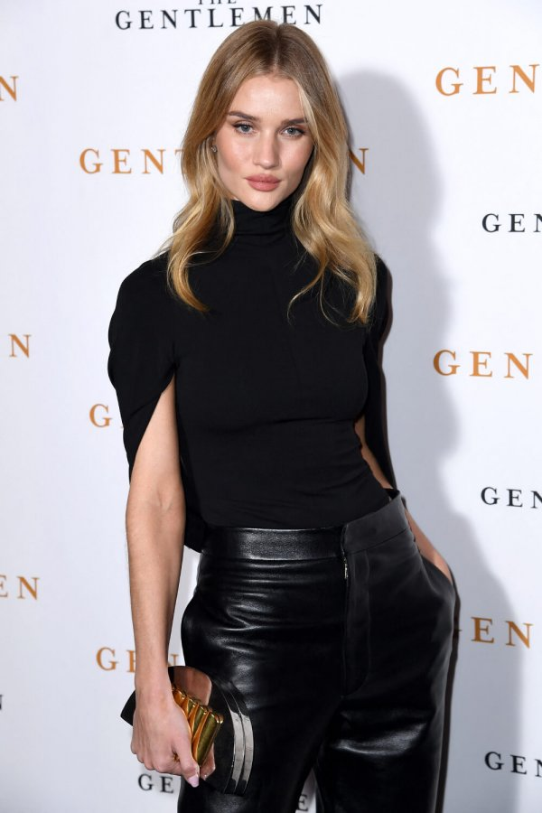 Rosie Huntington-Whiteley attending The Gentlemen Special Screening