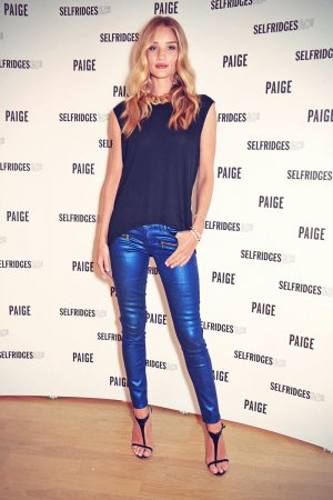 Rosie Huntington-Whiteley attends Paige Shop launch
