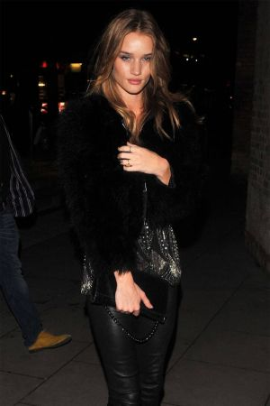 Rosie Huntington-Whiteley la Clique opening night held at the Roundhouse