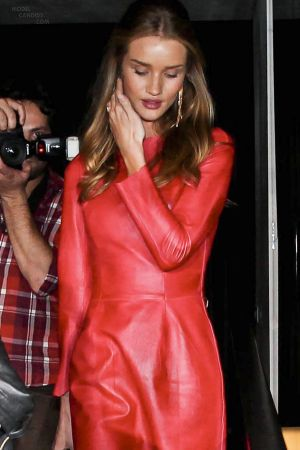 Rosie Huntington-Whiteley leaves Numero bar in Sao Paulo