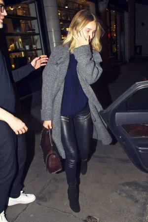 Rosie Huntington Whiteley out in London