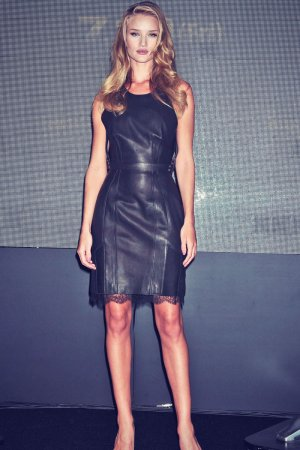 Rosie Huntington-Whiteley press conference Osaka Japan