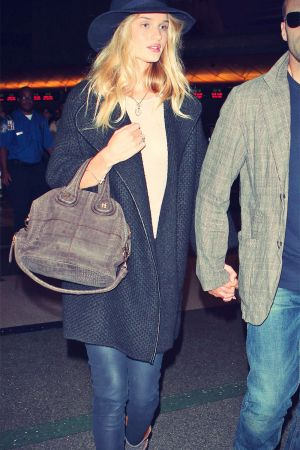 Rosie Huntington-Whitely at LAX