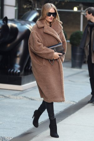 Rosie Huntington-Whitely seen in NYC