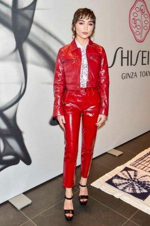 Rowan Blanchard attends Shiseido makeup launch