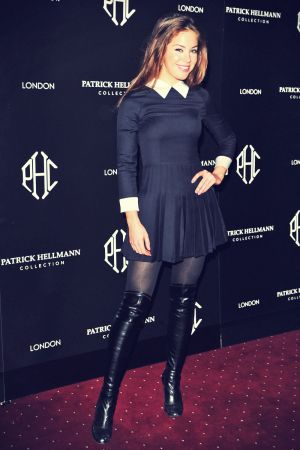 Roxanne McKee attends The Patrick Hellmann store launch party