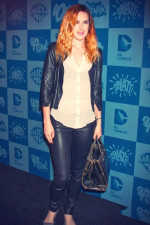 Rumer Willis arrives in style for Warner Bros Consumer Products