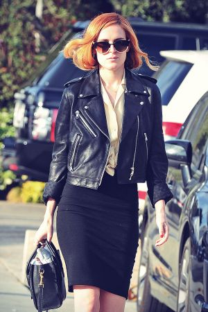 Rumer Willis running errands in LA