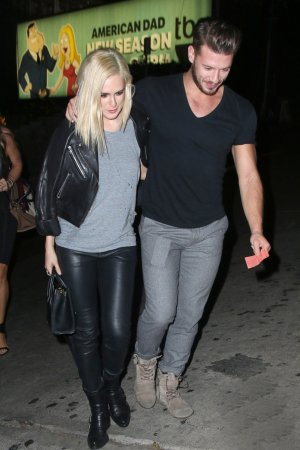Rumer Willis was seen exiting Chateau Marmont
