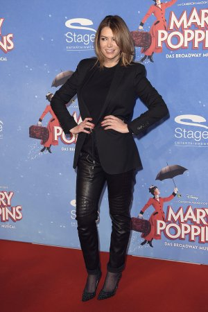 Sabia Boulahrouz attends Mary Poppins Musical Premiere