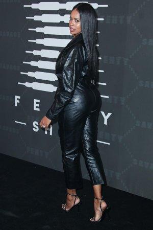 Sabrina Dhowre Elba attends Savage X Fenty Show