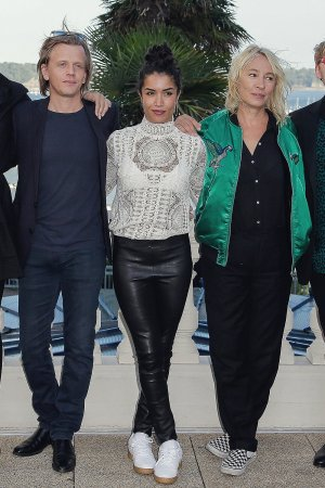 Sabrina Ouazani attends Day Two of the Dinard Film Festival