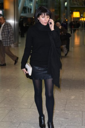 Sadie Frost seen at Heathrow airport