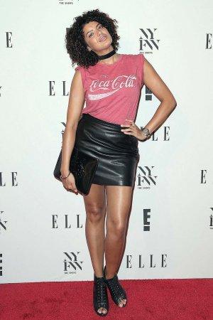 Saffi Karina attends E! ELLE IMG Kick-Off NYFW