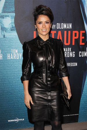 Salma Hayek at Tinker Tailor Soldier Spy photocall in Paris