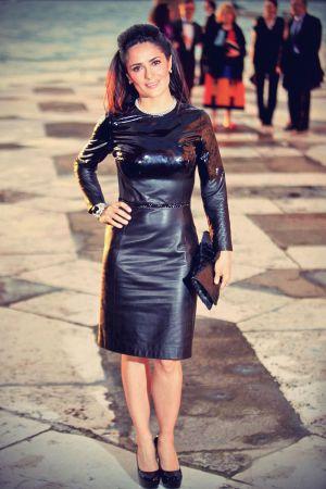 Salma Hayek attended a dinner for the Giorgio Cini Foundation